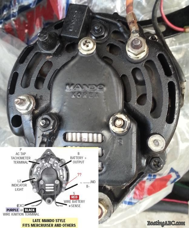 Attractive Mercruiser Alternator Wiring Diagram Adornment